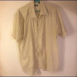 Men's short sleeves dress shirt